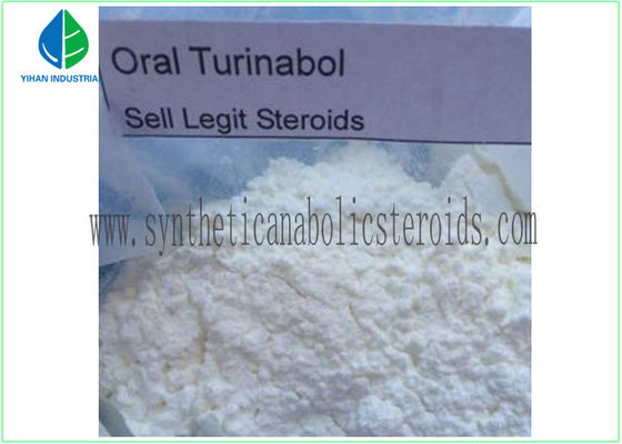 China CAS 2446-23-3 Androgenic Anabolic Steroids 4 Chlorodehydromethyltestosterone Oral Turinabol supplier