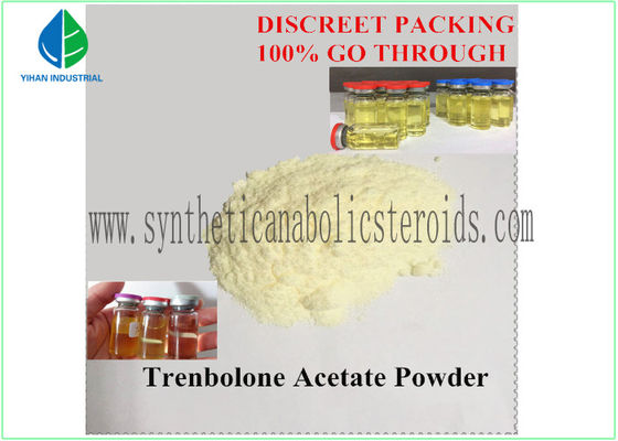 China Yellow Tren Acetate Powder Fitness Steroids Hormones Pharma Raw Materials supplier
