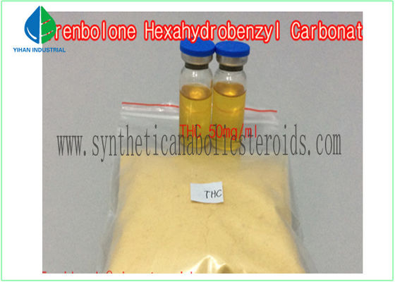 China Raw Steroid Powders Tren Hexahydrobenzylcarbonate EINECS 245-669-1 GMP Standard supplier