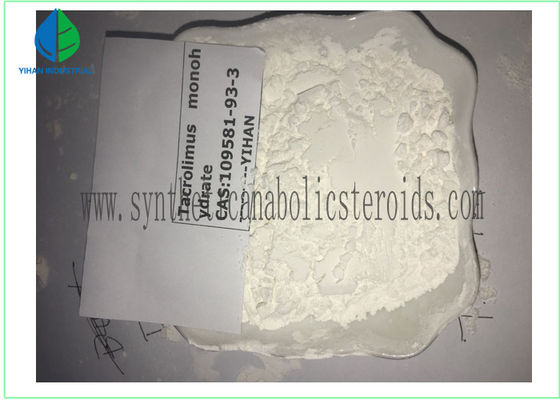 China Dermatological Treatment Pharmaceutical Raw Materials Tacrolimus CAS 109581-93-3 supplier