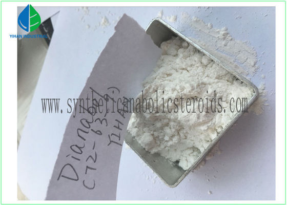 China Oral Anabolic Testosterone Steroid Hormone Dianabol , Methandienone CAS 72-63-9 For Muscle Increasing supplier