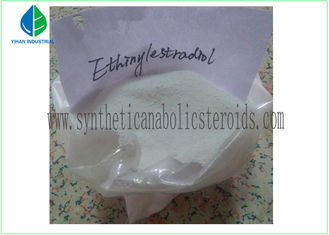 China Ethinylestradiol Estrogen Raw Pharma Steroids Oral / Injectable CAS 57-63-6 For Female supplier