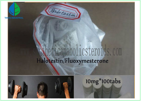 China Halotestin Fluoxymesterone Steroid Androgen Drugs CAS 76-43-7 Halo For Male Hypogonadism supplier