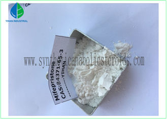 China CAS 84371-65-3 Female Estrogen Steroid , Muscle Enhancing Steroids Mifepristone supplier