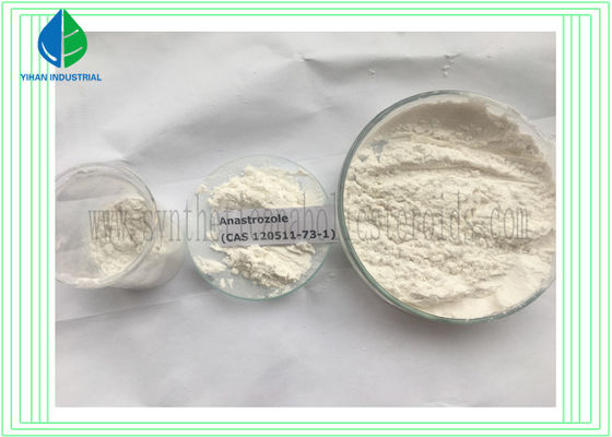 China Male Sex Hormone Drugs , Anti - estrogen Steroids Arimidex 120511-73-1 For Muscle Growth supplier