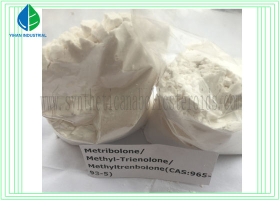 China Metribolone / Methyltrienolone / Methyltrenbolone Raw Steroid Powders CAS 965-93-5 for Breast Cancer supplier
