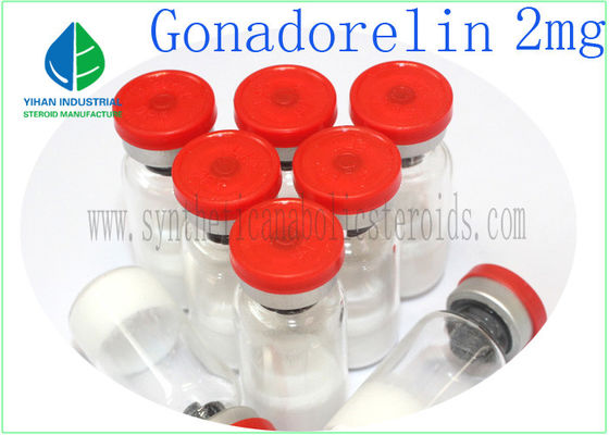 China Gonadorelin Acetate Powder Muscle Building Peptides Gonadorelin 2mg/ Vial 99% Purity supplier
