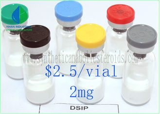 China Delta Sleep Inducing Lyophilized Powder DSIP 2mg/ Vial Peptide CAS 62568-57-4 supplier