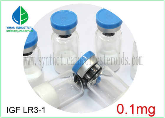 China IGF LR3-1 Human Growth Hormone Peptide Powder 0.1mg/ Vial 99% Min Assays supplier