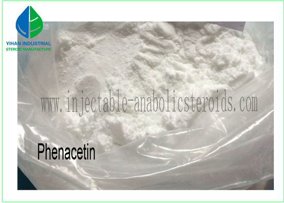 China Pain Killer White Flash Scaly Crystalline Powder CAS 62-44-2 Phenacetin For Relieving supplier