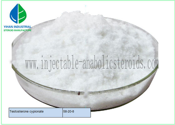 China 99% Muscle Mass Raw Steroid Powder Test Cyp Testosterone Cypionate 58-20-8 supplier