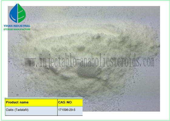 China 99% pure Raw Steroid Powders Tadalafil CAS 171596-29-5 For Male Erectile Dysfunction supplier