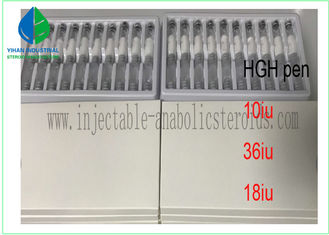 China CAS 96827-07-5 Human Growth Hormone HGH pen 18iu 36iu 10vial /box supplier