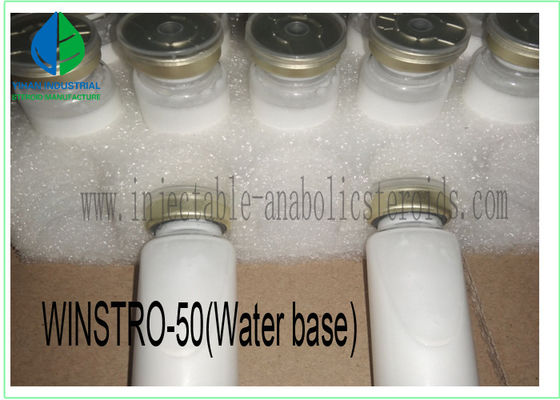 China Oral Steroid Muscle Building Steroids Water Based Winstrol Stanozolol 50mg supplier