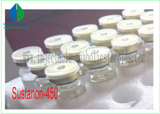 China Finished Liquid Oil Base Testosterone Sustanon 450 Steroids Testosterone Blend Muscle Growth supplier
