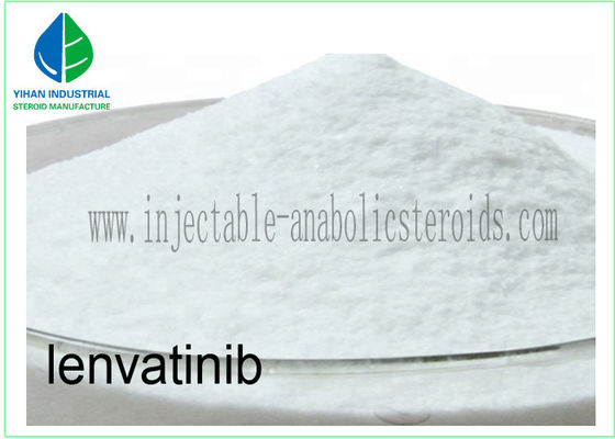 China 99% Lenvatinib Mesylate / Cancer Treatment Steroids Raw Pharmaceutical Powder supplier
