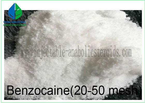 China Pharmaceutical Raw Materials Benzocaine 20-50 Mesh for Pain Reliever 94-09-7 supplier