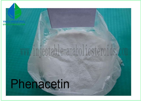 China Phenacetin Pharmaceutical Anabolic Steroids CAS 62-44-2 For Pain - Relieving supplier
