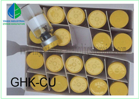 China 99% Purity Peptides Powder Copper Peptide GHK-Cu 100mg Per Vial supplier