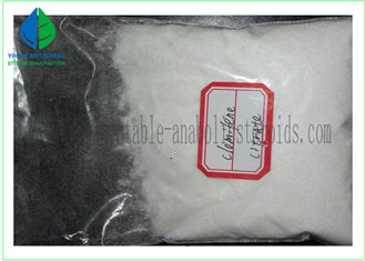 China Anti Estrogen Steroids powder Clomiphene Citrate Clomid CAS 50-41-9 supplier