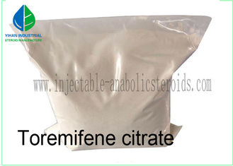 China Pharmaceutical Materials Fareston SERMs Steroid Toremifene citrate CAS 89778-27-8 For Breast Cancer supplier