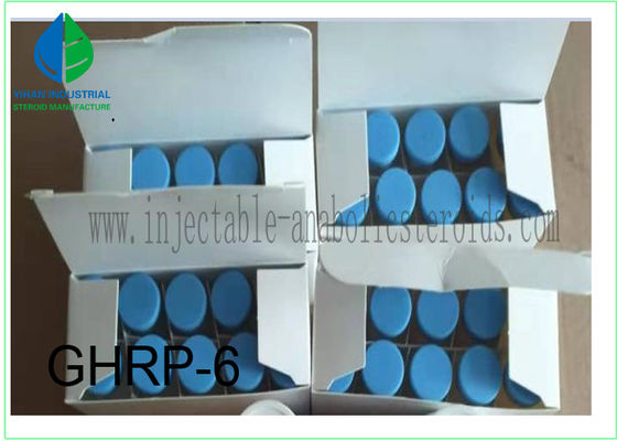 China Injectable Peptide finished steroid prohormone GHRP-6 GHRP6 for muscle growth supplier