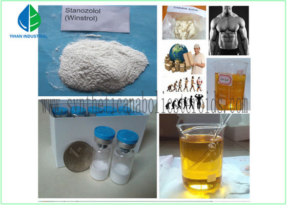 China CAS 58-20-8 Synthetic Testosterone Cypionate Injection Medical Fitness Steroids factory