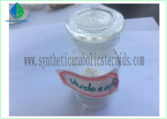 China Safe Levitra Vardenafil Powder Male Sexual Medicine MF C23H33ClN6O4S No Side Effect factory