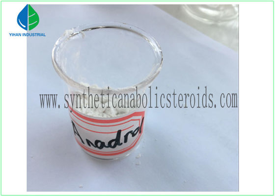 China High Purity Natural Anabolic Steroid Hormones Anadrol Oxymetholone CAS 434-07-1 factory