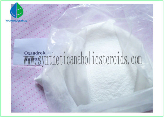 China Women / Men Bodybuilding Legal Bulking Steroids Oral Oxandrolone Anavar Powder factory