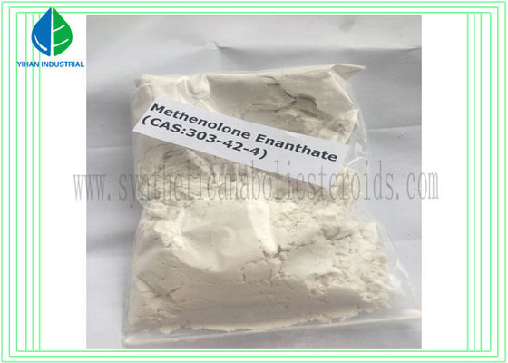 China Muscle Building Raw Steroid Powders Methenolone Enanthate / Primobolan - depot CAS 303-42-4 factory