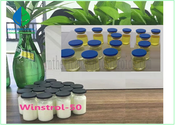 Depot Vial Finished Injectable Oil Liquid Anabolic Steroids Winstrol 50mg / Ml Muscle Growth