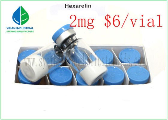 China HEX CAS 140703-51-1 Human Growth Hormone Peptide Muscle Building Hexarelin Powder factory