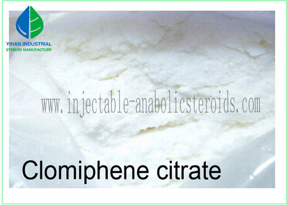 China 99% Steroids Raw Powder Clomid / Clomiphene Citrate For Muscle Building factory