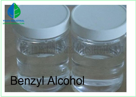 China Safe Organic Solvents Benzyl Alcohol For Injectable Anabolic Steroid CAS 100-51-6 factory
