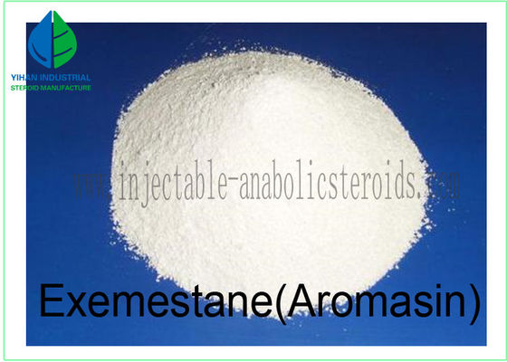 China Anti Estrogen Steroids Powder Exemestane / Aromasin for Cutting / Bulking Cycle factory