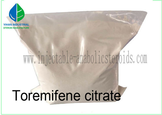 China Pharmaceutical Materials Fareston SERMs Steroid Toremifene citrate CAS 89778-27-8 For Breast Cancer factory
