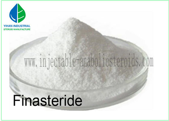 China 99% Purity Raw Steroids Finasteride Powder For Hair Loss Treatment CAS 98319-26-7 factory