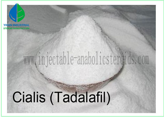 China Male Erectile Dysfunction Human Hormone Tadalafil Raw Steroid Powder CAS NO 171596-29-5 factory