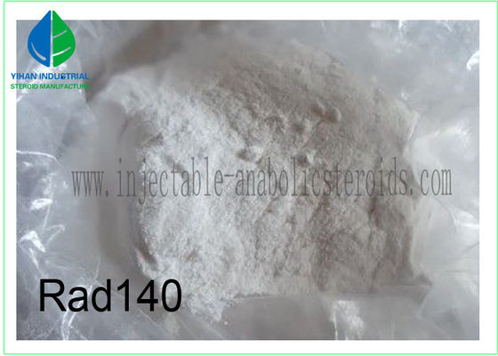 China Sarms Powder RAD 140 SARMS Steroids CAS 1182367-47-0 Muscle Mass Steroids Powder For Men factory
