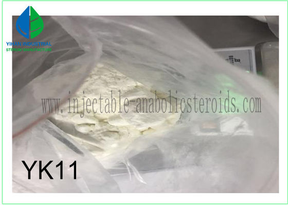 China 99% Purity White Sarms Steroid Powder Yk11 for Muscle Building factory