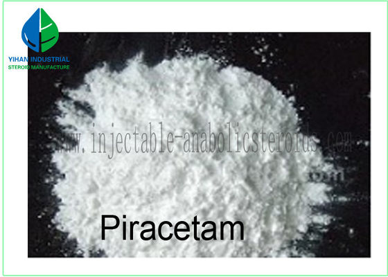 China Smart Nootropic Drug White sterodis powder Piracetam 99% for Improving Intelligence 7491-74-9 factory
