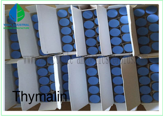Safe Shipping Polypeptide Hormone Powder Thymosin Alpha 1  Acetate 5mg Per Vial