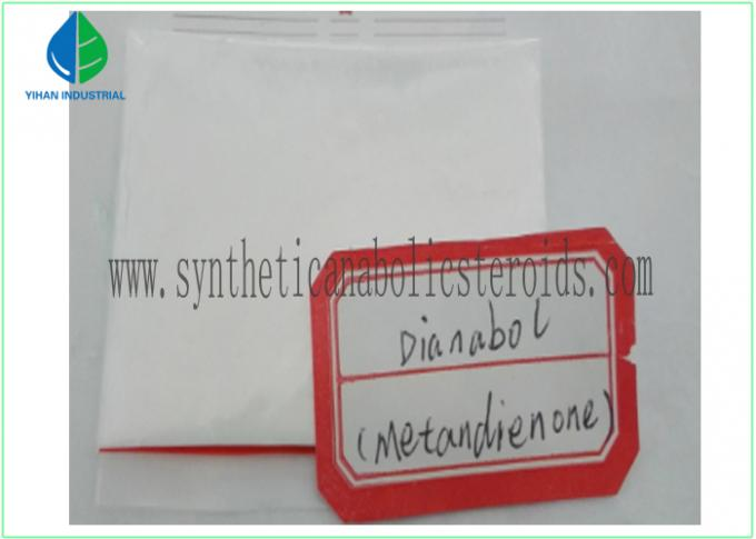 Oral Anabolic Testosterone Steroid Hormone Dianabol , Methandienone CAS 72-63-9 For Muscle Increasing