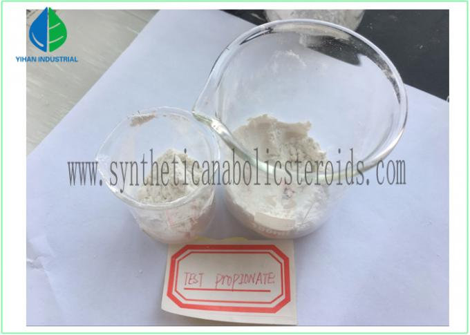 Testosterone Propionate Injection / Oral Safe Steroids For Muscle Building CAS 57-85-2