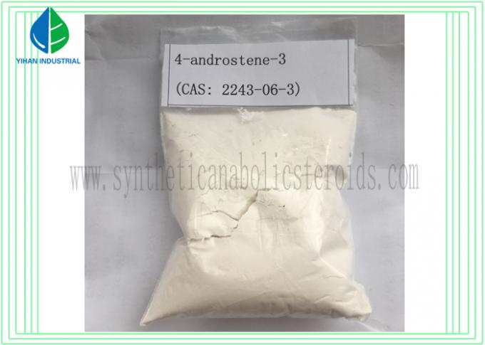 6- Oxo Muscle Building Steroids 4- androstene -3 CAS 2243-06-3 to Increase Muscle Mass