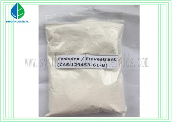 Faslodex Hormonal Fulvestrant Cutting Cycle Steroids 129453-61-8 For Breast Cancer Treatment