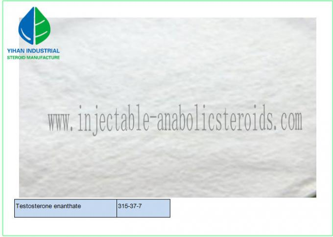99% Anabolic Steroids Hormone Powder Test E / Testosterone Enanthate Cas 315-37-7