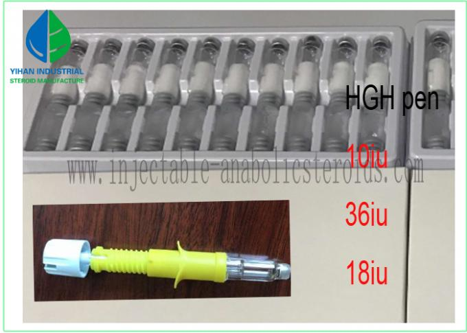 CAS 96827-07-5 NEW Human Growth Hormone HGH pen 18iu 36iu 10vial per box