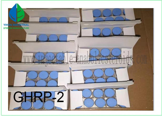 Research Chemical Peptide Powder Ghrp-2 for Weight Loss Lab Supply